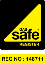 Gas Safe Logo for RNS Plumbing and Heating