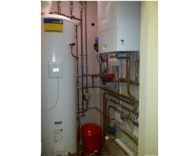 Central heating engineer in the Midlands
