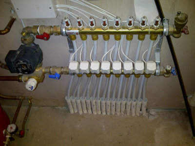Underfloor heating installation in the Midlands